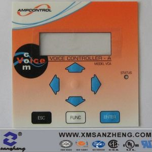 Pet/PVC Water Resistant Thermal Transfer Electrical Device Membrane Switches Panels pictures & photos