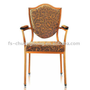 Imitation Wood Chair with Arms for Hotel (YC-D104-01) pictures & photos