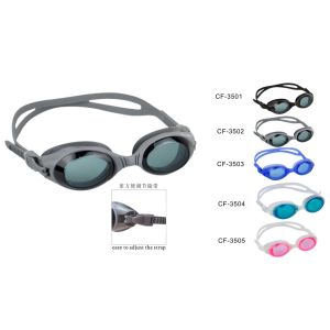 Silicone Swimming Goggle (CF-3500) pictures & photos