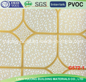China Popular PVC Gypsum Ceiling Tile pictures & photos