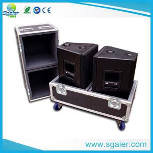 Hot-Sale 8u, 10u 12u Space Mixer Rack Case Carrying Wheels for Amplifier Equipments pictures & photos