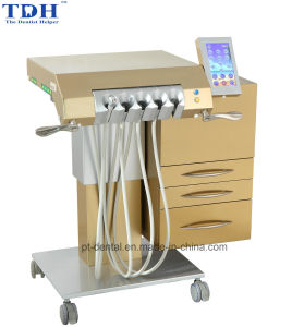TUV Ce Luxury Dental Chair Golden (tdh-8) pictures & photos