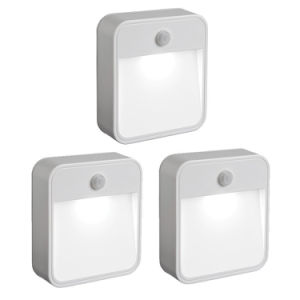 Battery-Powered Motion-Sensing LED Stick-Anywhere Nightlight Wall Light
