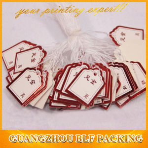 Custom Elastic String Jewelry Paper Tags pictures & photos