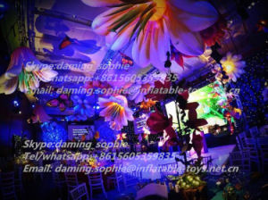 Inflatable Indoors Flowers for Ceiling Decoration