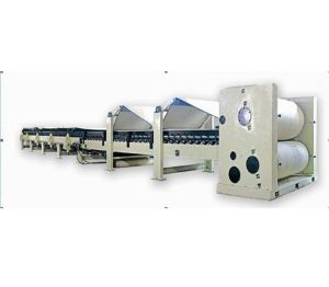Double Facer for Corrugated Paperboard Production