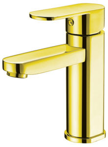 Golden Color Bathroom Water Faucet (NJ-0047) pictures & photos