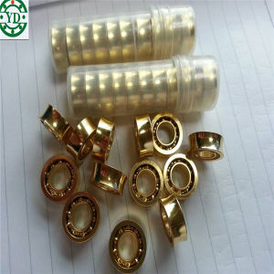 6.35*12.7*4.762mm U Groove Stainless Steel 10 Ball Yoyo Ball Gold Plated Bearing R188kk pictures & photos