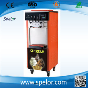 China Soft Serve Ice Cream Machine Maker/Bql-825D pictures & photos