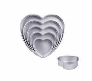 Bakeware Aluminum Anodized Heart Cake Pan (MY2646A-MY2654A) pictures & photos