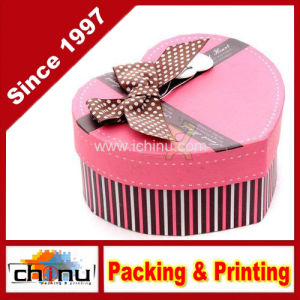 Heart Shaped Gift Paper Box (3167) pictures & photos