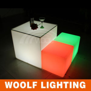Bar Club Party LED Lighted Glowing Cube Seater pictures & photos