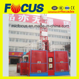 Double Cage Sc120/120 Construction Hoist on Promotion pictures & photos