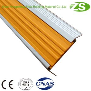 Durable Matel Safety Aluminum Curved Stair Nosing pictures & photos