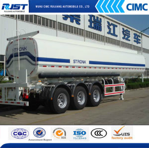 35m3 Fuel Tank Semi Trailer/Liquid Tank (WL9408GHYA) pictures & photos