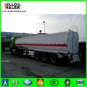 Fuel Tanker Trailer with 5mm Carbon Steel Tank Body pictures & photos