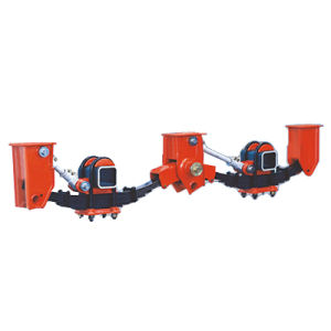 American Type Semi Trailer Mechanical Suspension pictures & photos