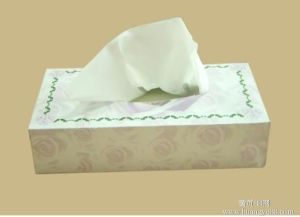 Pack Facial Tissue Paper, 100% Wood Pulp Soft Tissue Paper pictures & photos