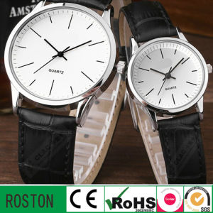 Water Resistant Quartz Movement Lovers Watch