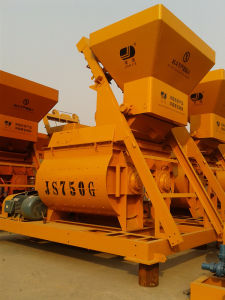 Twin Shaft Concrete Mixer, Twin Shaft Mixer (JS750) pictures & photos