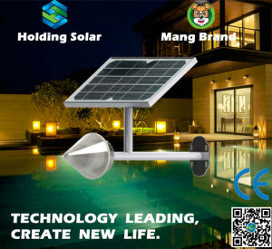 Monocrystal Solar Panel LED Garden Wall Light with Waterproof pictures & photos