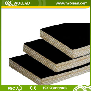 2015 Hot Sales Black/Brown Film Faced Plywood/Shuttering (w15490)