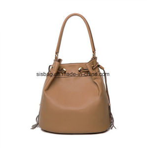 Designer PU Tassel Tote Bag Women Fashion Bucket Bags pictures & photos