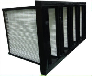 Plastic Panel Pleated Medium Air Filter pictures & photos