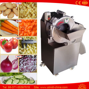 Food Potato Cutting Vegetable Chopper Carrot Apple Cutter Machine pictures & photos