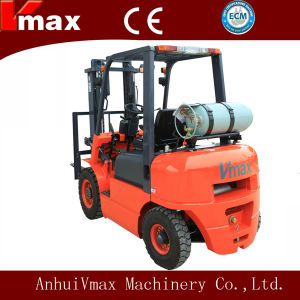 2.5 Ton LPG/Gasoline Engine Automatic Transmission Forklift Truck (CPQYD25) pictures & photos