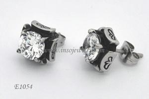 Stainless Steel Fahion Earrings (E1054)