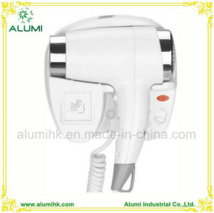 Hotel Wall Mounted 1800W Hair Dryer Hair Straightener with Sensor pictures & photos