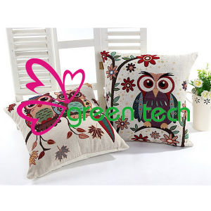 2015 Vintage Owl Couple Love Retro New Sofa Seat Cover