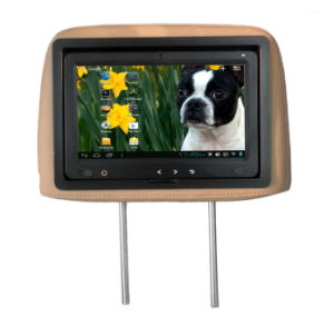 Headrest 9 Inch Touch Screen LCD Advertising Display Monitor pictures & photos
