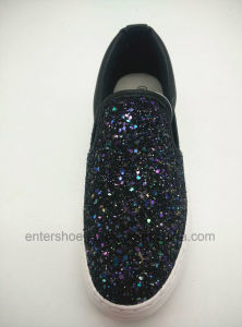 Bling Bling Women Fashion Shoes with Glitter (ET-LD160104W) pictures & photos