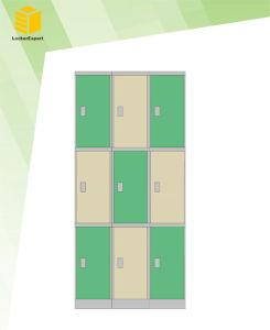 3 Door ABS Plastic Locker for Gym/Fitness Center/School /Club pictures & photos