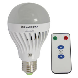 Rechargeable LED Emergency Bulb 7W with Remote Control pictures & photos