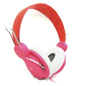 Stereo Wired Pink Headphones (YFD23)