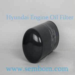High Performance Engine Oil Filter for Hyundai Excavator/Loader/Bulldozer pictures & photos
