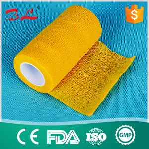 "4"" * 5y Cohesive Flexible Bandage Similar to Coflex Vet Wrap pictures & photos"