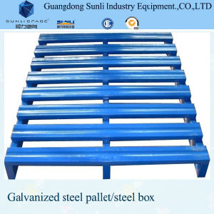 Turnover Stainless Warehouse Metal Pallet pictures & photos