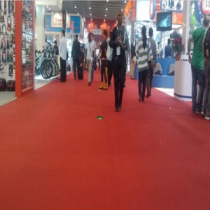 Polyester Nonwoven Plain Exhibtion Red Carpet pictures & photos