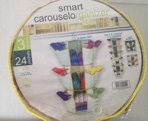 Smart Carousel Hanging Shoe Organizer Racks pictures & photos