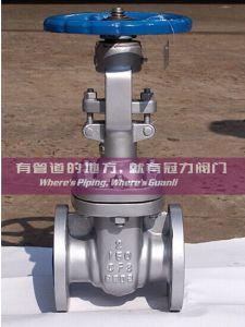 API ANSI Wcb Gate Valve with ISO Certificates pictures & photos