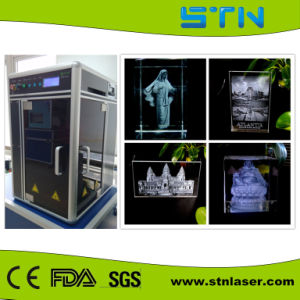 Crystal 3D Engraving Laser Machine (STNDP-801AB1)