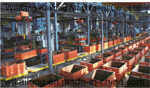 Continous Mechanized Moulding Line of Green Sand