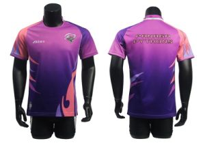 Custom Dri Fit Men Soccer Uniform with Good Quality pictures & photos