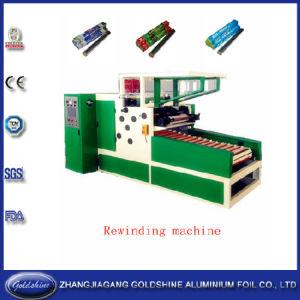 Aluminum Foil Roll Rewinding Machine (GS-AF-600) pictures & photos