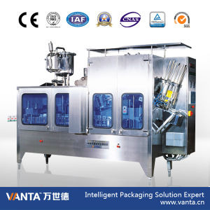 Gable Top Hot Filling Machine with Auto Capping Function