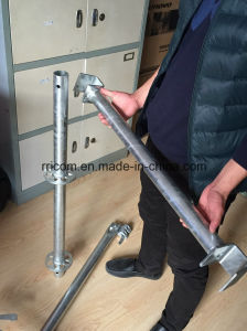 Galvanized Ringlock System Construction Building Steel Ringlock Scaffolding pictures & photos